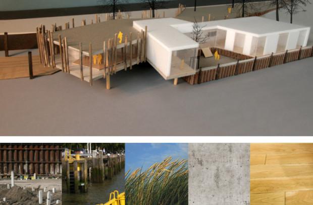 BZW-River view birdseye + materialisation
